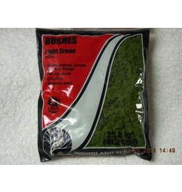 Woodland Scenics Light Green Bushes Clump-Foliage (18 Cubic Inch Bag)