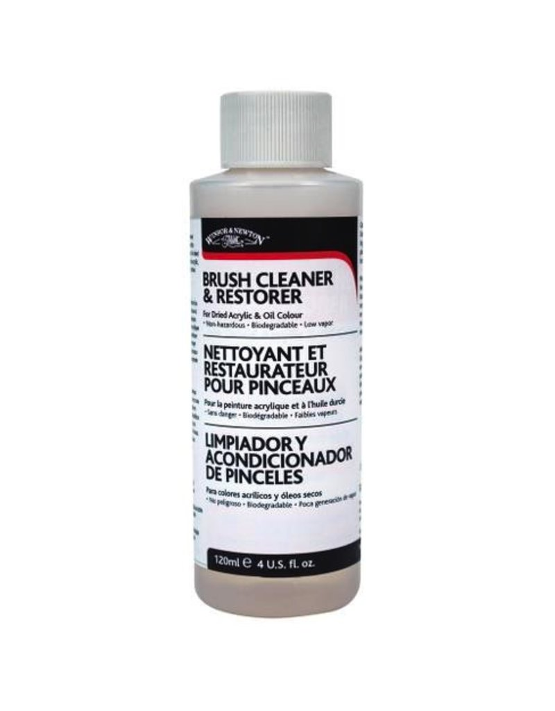 Winsor & Newton Brush Cleaner & Restorer (4oz)