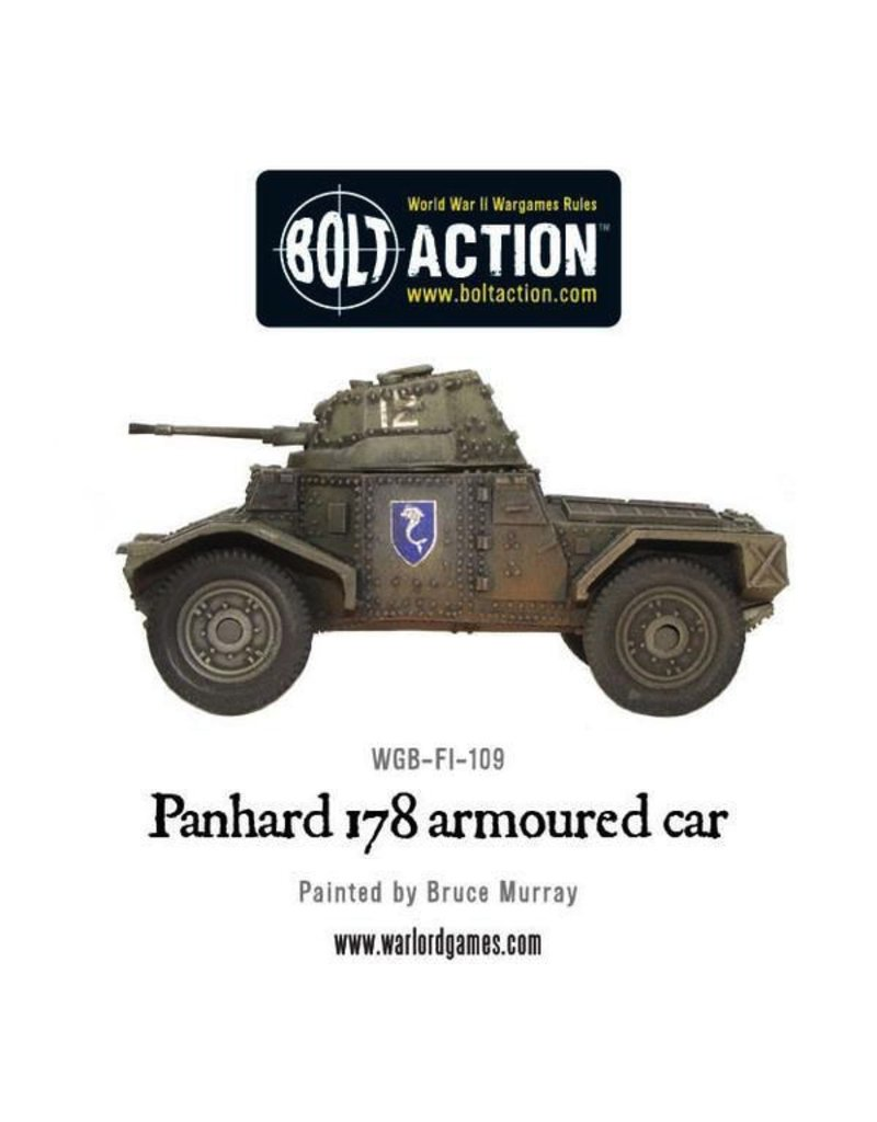 Bolt Action BA French Army: Panhard 178 Armoured Car
