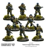 Bolt Action Fallschirmjager Falcon Infantry