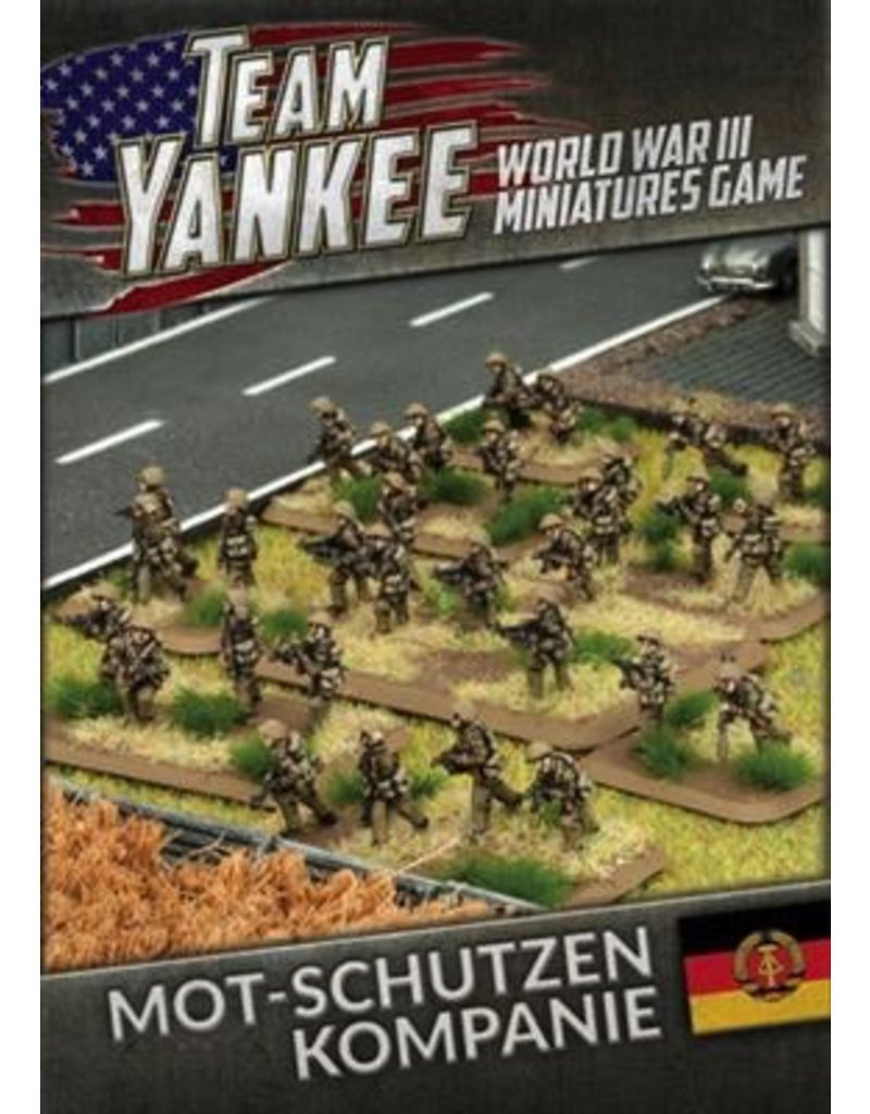 Team Yankee TEBX02 East German Mot-Schutzen Kompanie (73 figures)