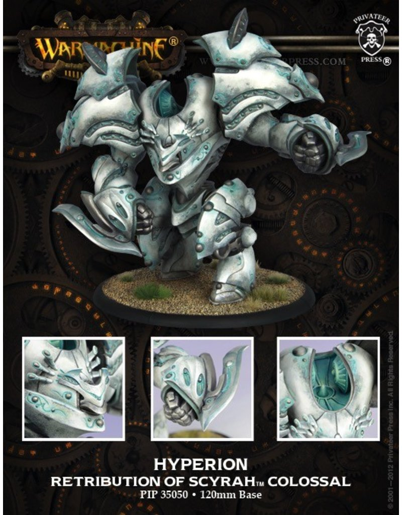 Warmachine Hordes\ PIP35068 Retribution: Helios/Hyperion Colossal<br /> MSRP: $109.99
