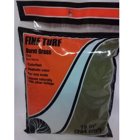 Woodland Scenics Burnt Grass Fine Turf (18 Cubic Inch Bag)