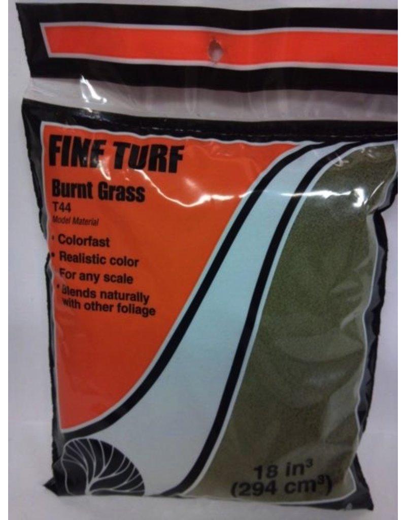 Woodland Scenics Burnt Grass Fine Turf (18 Cubic Inch Bag)