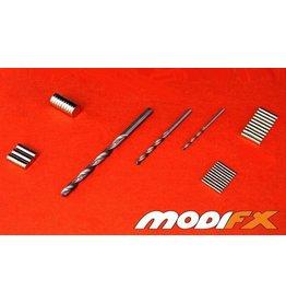 Modifx Magnets Magnet Starter Pack (240 Magnets + 3 Drill Bits)