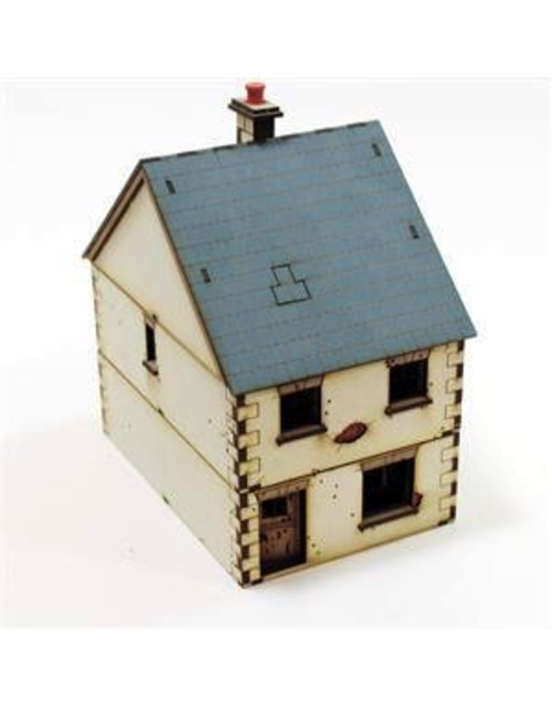 Warlord Games Pre-Painted Detached Terrace House