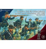 Perry Bros Perry Bros ACW Union Infantry in Sack Coats Skirmishing 1861-65