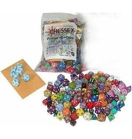 Chessex CHX001LB Pound of Dice