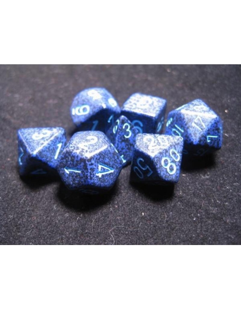 Chessex CHX25307 7 Set Speckled Cobalt