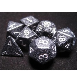 Chessex CHX25318 7 Set Speckled Ninja
