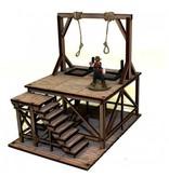 4Ground Miniatures DIRECT 28mm Dead Man's Hand: Hangman's Gallows