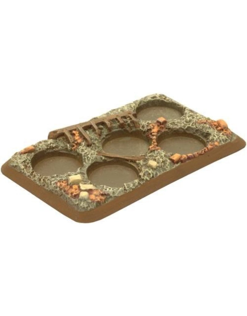 Flames of War XX106 Bases Plastic Rubble