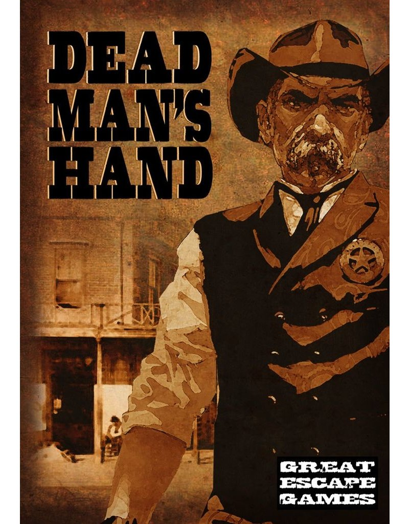 Great Escape Games DIRECT Dead Man's Hand Rulebook & Card Deck