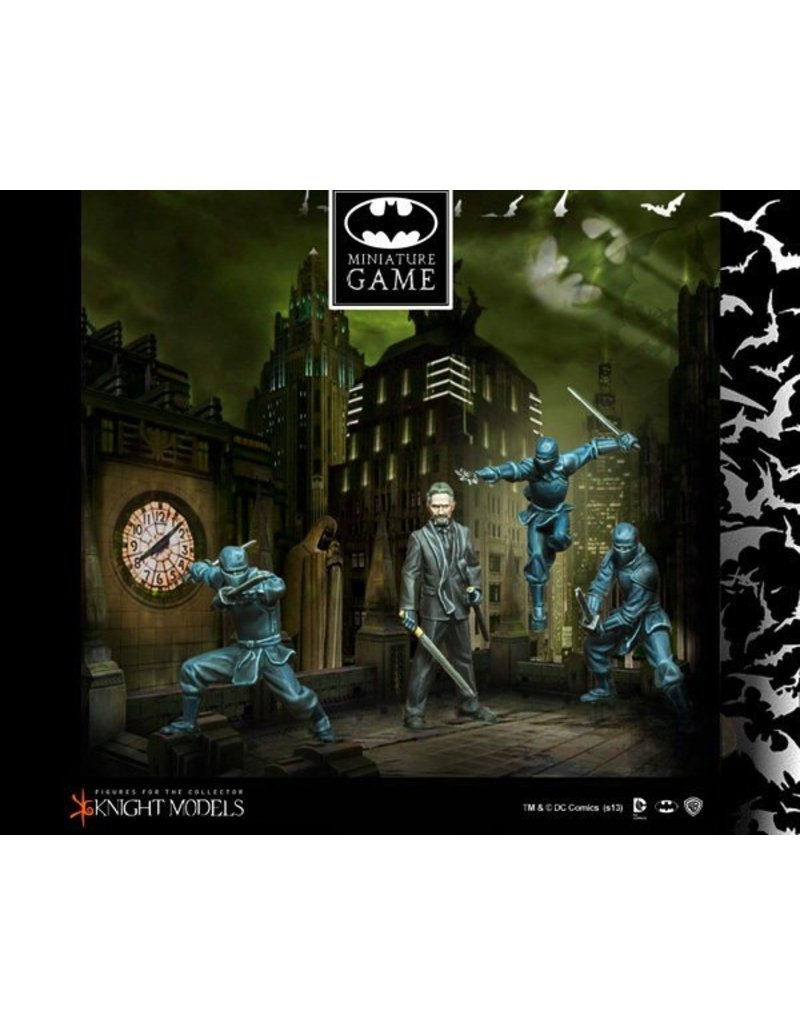 Knight Models Knight Models BATMAN (35mm): Ra's Al Ghul and the League of Shadows