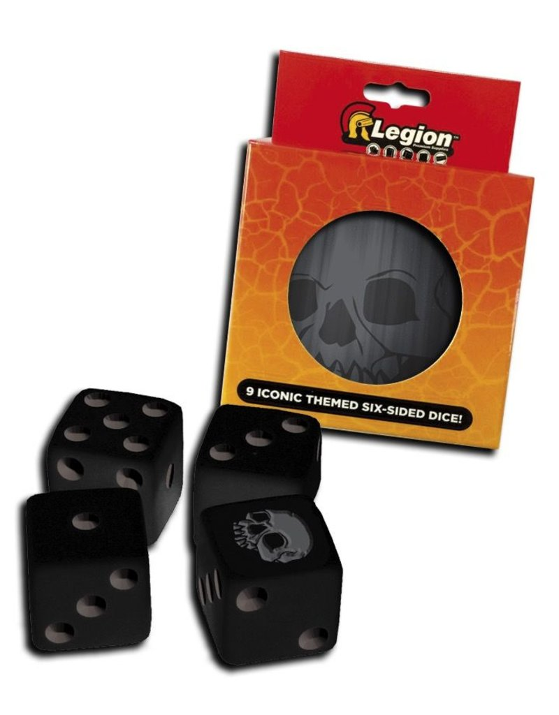 Legion Premium Gaming Supplies Iconic Dice Tins: Skull (9)