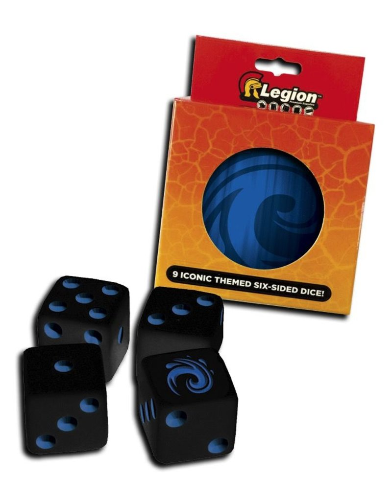 Legion Premium Gaming Supplies Iconic Dice Tins: Water (9)