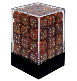 Chessex CHX27903 12mm d6 Glitter Gold with Silver