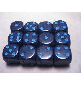 Chessex CHX25707 16mm d6 Speckled Cobalt