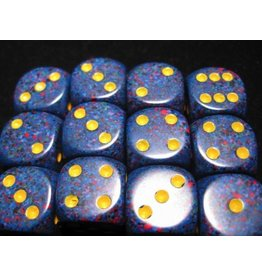 Chessex CHX25766 16mm d6 Speckled Twilight