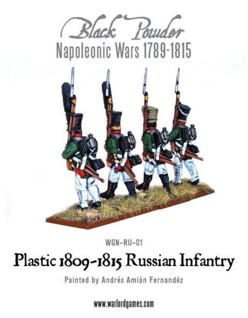 Warlord Games Napoleonic Russian Line Infantry (1809-1815)