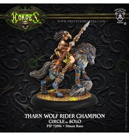Warmachine Hordes\ PIP72096 Circle Orboros: Tharn Wolf Rider Champion Solo