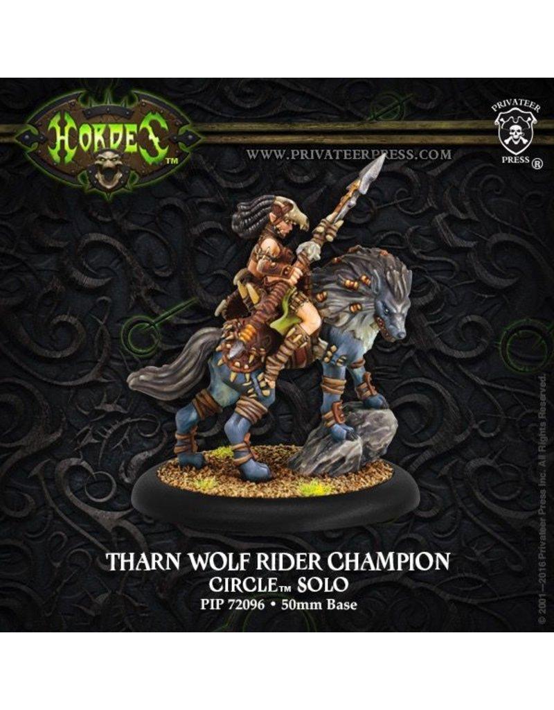 Warmachine Hordes\ PIP72096 Circle Orboros: Tharn Wolf Rider Champion Solo