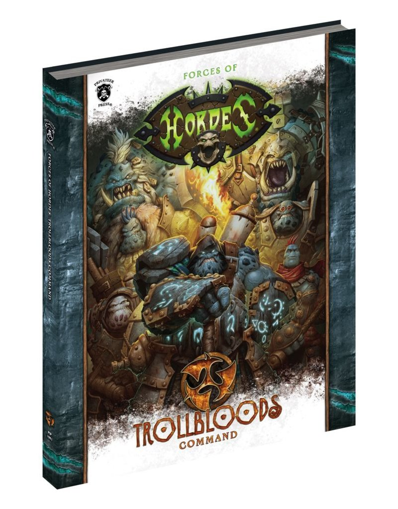 Warmachine Hordes\ PIP1090 Forces of Hordes: Trollbloods Command (softcover)