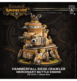 Warmachine Hordes\ PIP41119 Mercenaries: Hammerfall Siege Crawler Rhulic Battle Engine