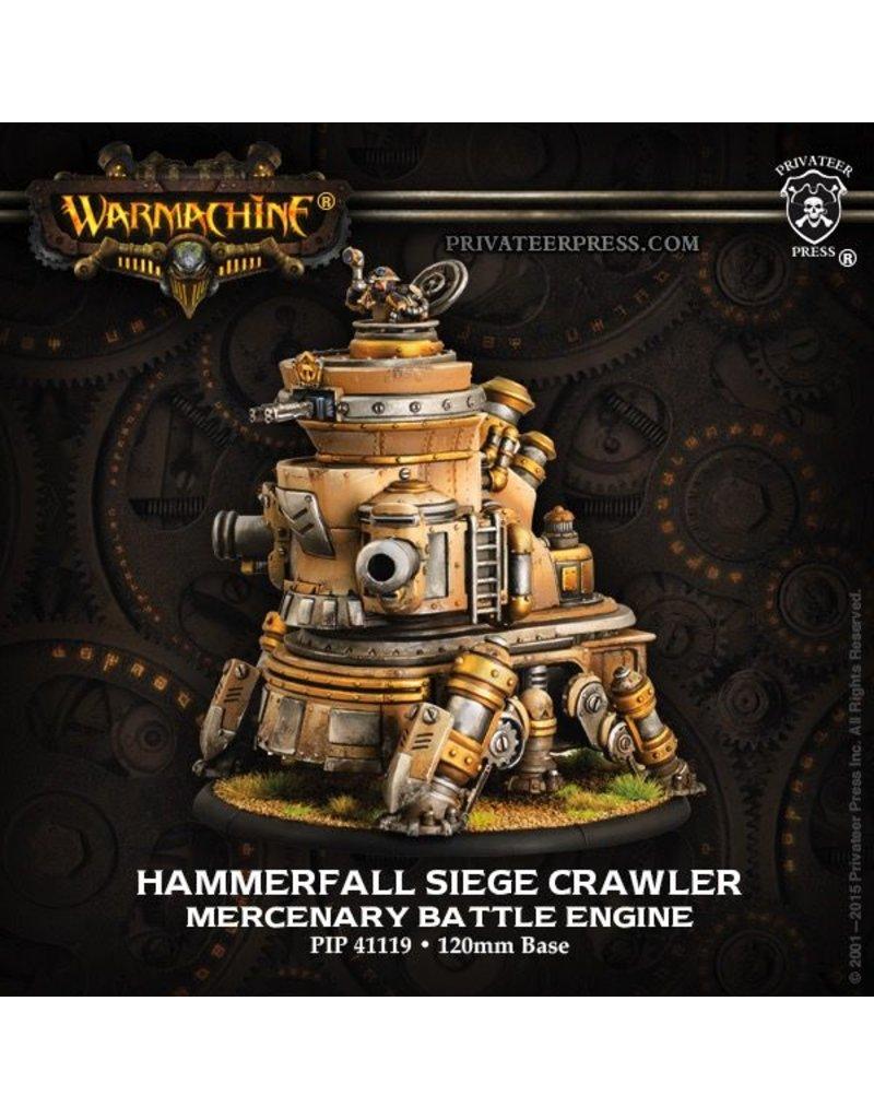 Warmachine Hordes\ PIP41119 Mercenaries: Hammerfall Siege Crawler Rhulic Battle Engine