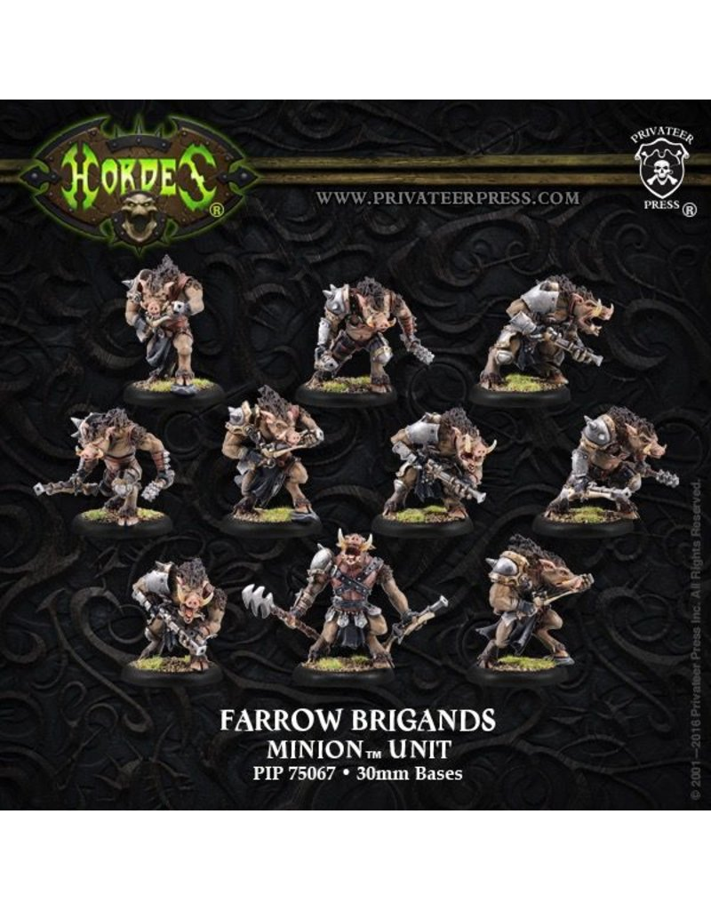 Warmachine Hordes\ PIP75067 Minions: Farrow Brigands/Farrow Commandos