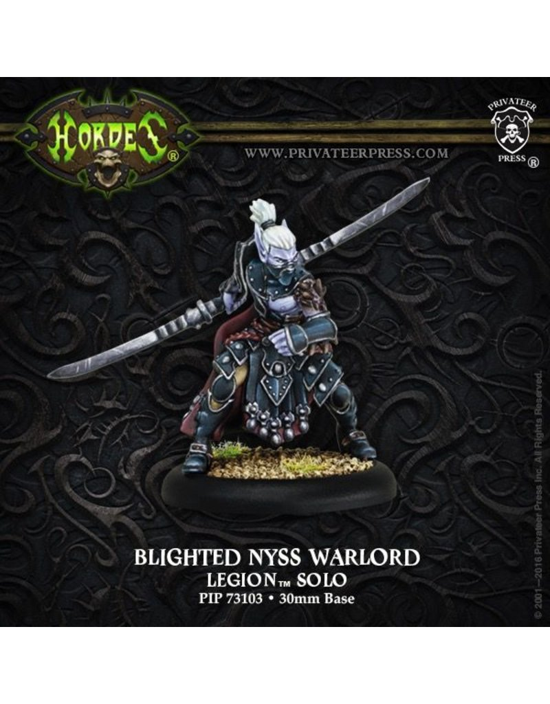Warmachine Hordes\ PIP73103 Legion: Blighted Nyss Warlord Solo