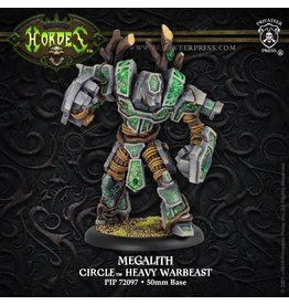 Warmachine Hordes\ PIP72097 Circle: Megalith Heavy Warbeast