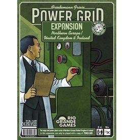 Rio Grande Games Power Grid Expansion: Northern Europe/United Kingdom & Ireland