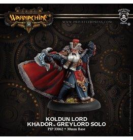 Warmachine Hordes\ PIP33062 Khador: Koldun Lord Solo