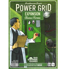Rio Grande Games Power Grid Expansion: Korea & China