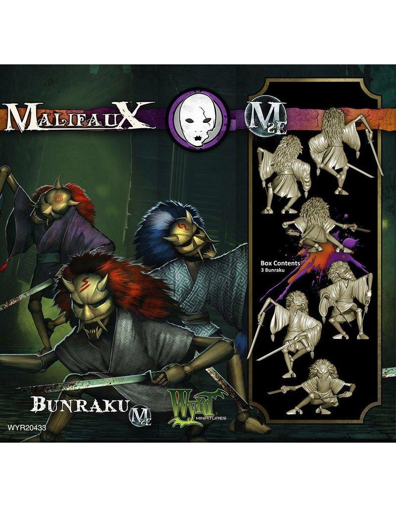 Wyrd miniatures WYR20433 Neverborn: Bunraku (3)