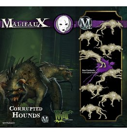 Wyrd miniatures WYR20431 Neverborn: Corrupted Hounds (4)