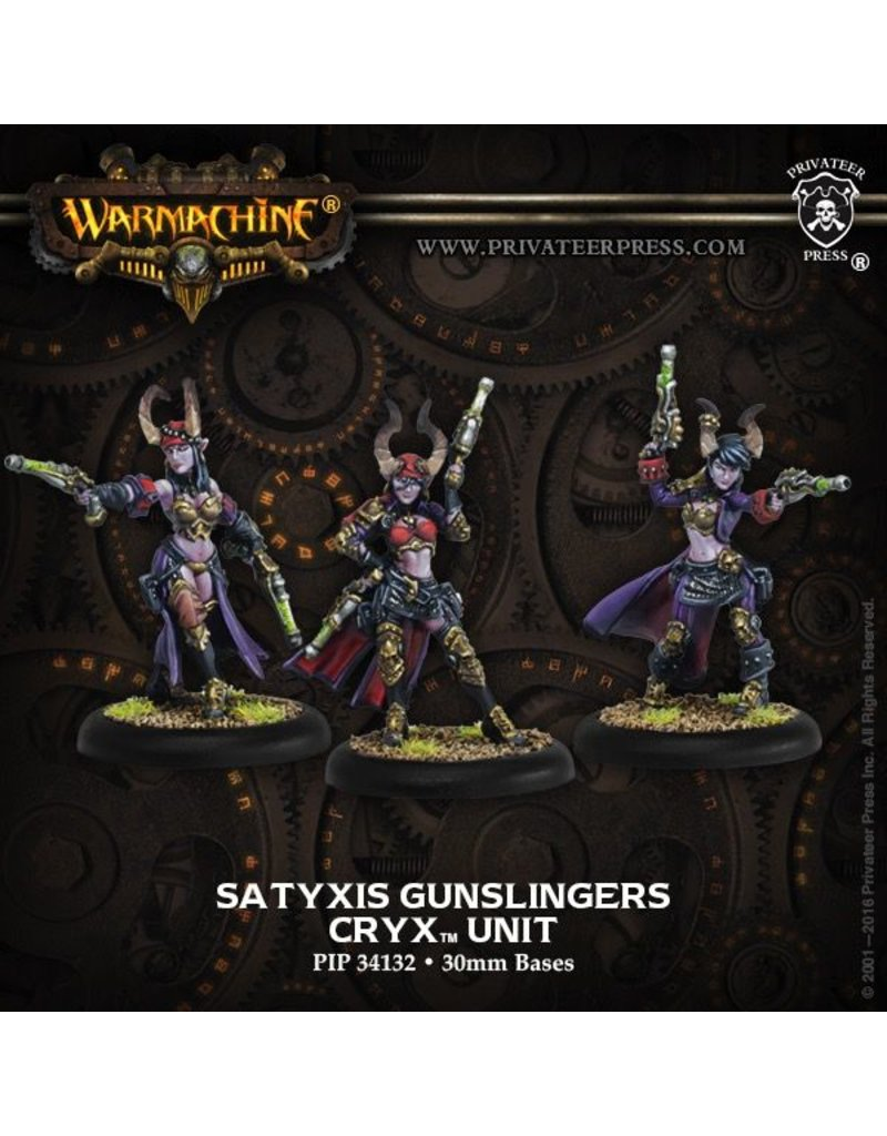 Warmachine Hordes\ PIP34132 Cryx: Satyxis Gunslingers Unit