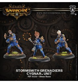 Warmachine Hordes\ PIP31124 Cygnar: Stormsmith Grenadiers Unit