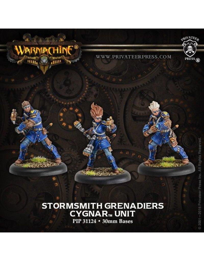 Warmachine Hordes\ PIP31124 Cygnar: Stormsmith Grenadiers Unit