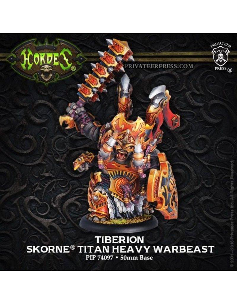 Warmachine Hordes\ PIP74097 Skorne: Tiberion Titan Heavy Warbeast