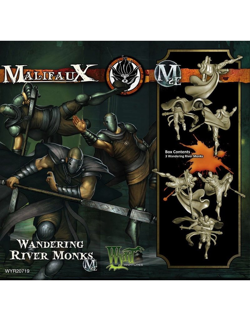 Wyrd miniatures WYR20719 Ten Thunders: Wandering River Monks (3)