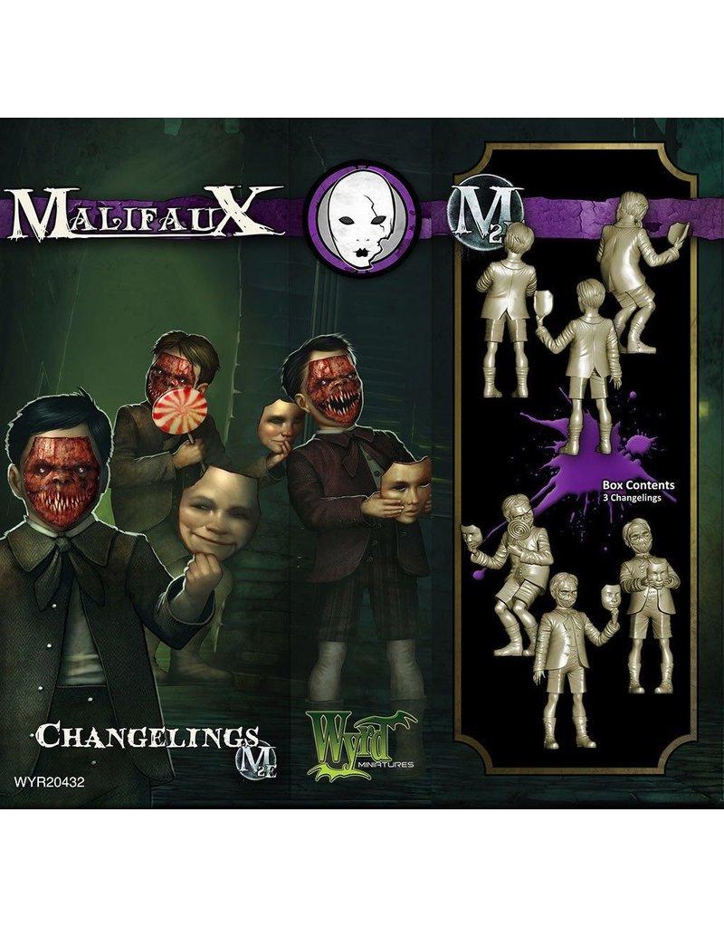 Wyrd miniatures WYR20432 Neverborn: Changelings (3)