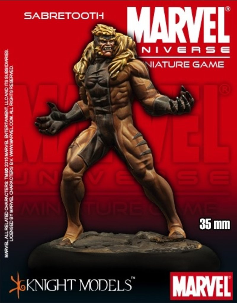 Knight Models Knight Models MARVEL (35mm): Sabretooth