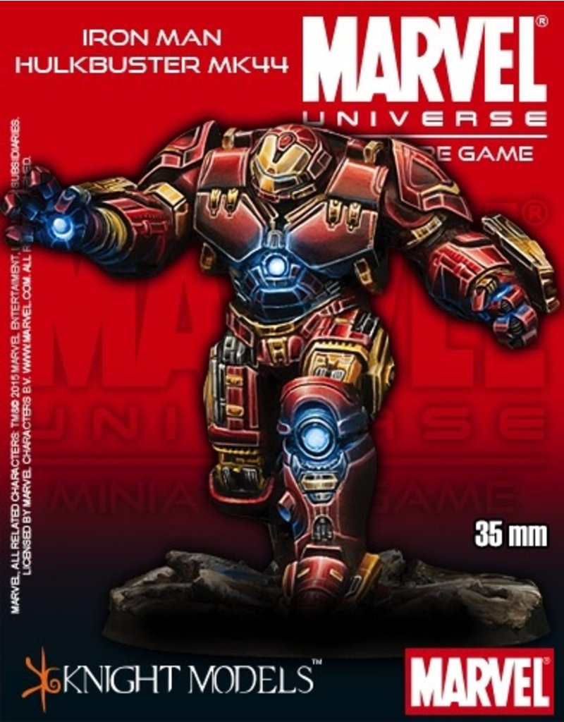 Knight Models Knight Models MARVEL (35mm): Iron Man Hulkbuster MK44