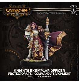 Warmachine Hordes\ PIP32121 Protectorate: Knights Exemplar Officer Command Attachment