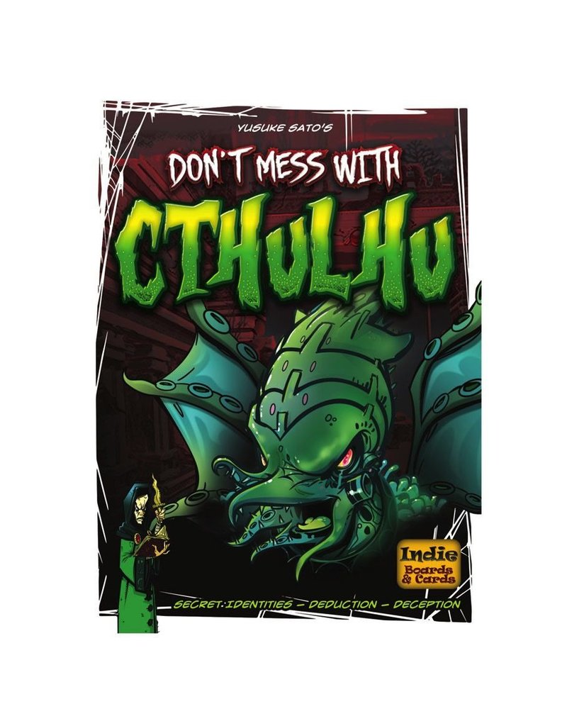 Indie Boards and Cards Don't Mess With Cthulhu: Secret Identities - Deduction - Deception