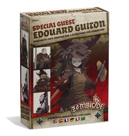 CoolMiniOrNot Zombicide: Edourad Guiton Special Guest Artist Survivor Miniatures