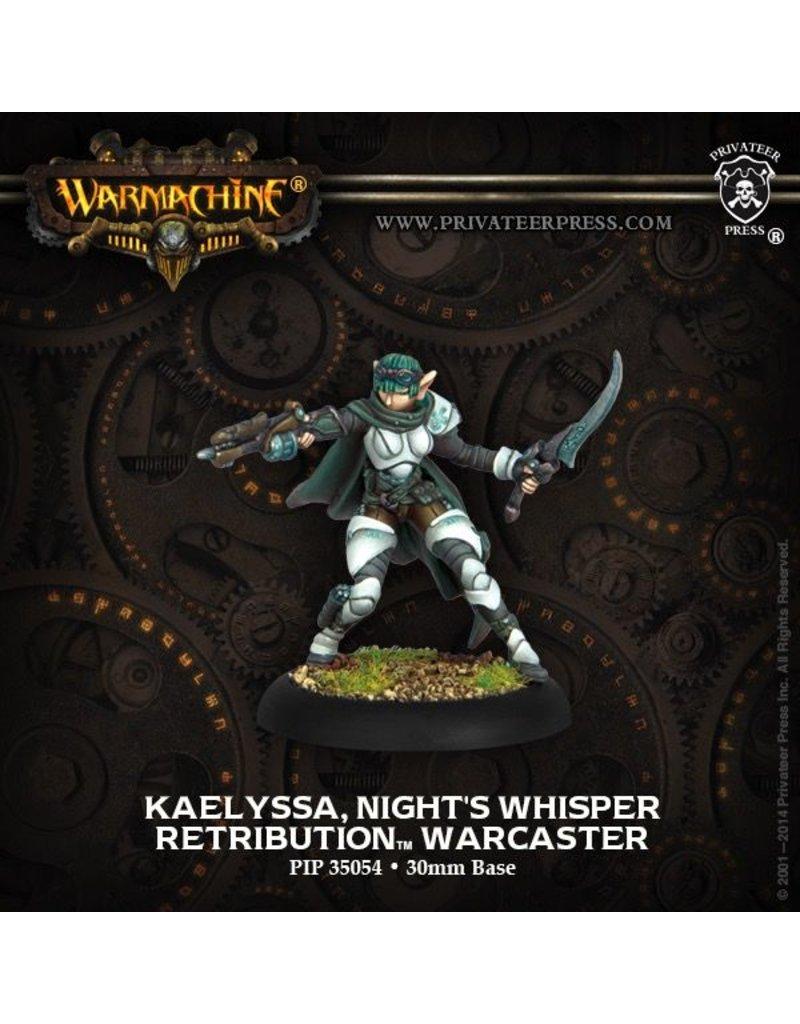 Warmachine Hordes\ PIP35054 Retribution: Kaelyssa, Night's Whisper