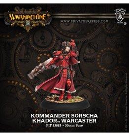Warmachine Hordes\ PIP33083 Khador: Kommander Sorscha
